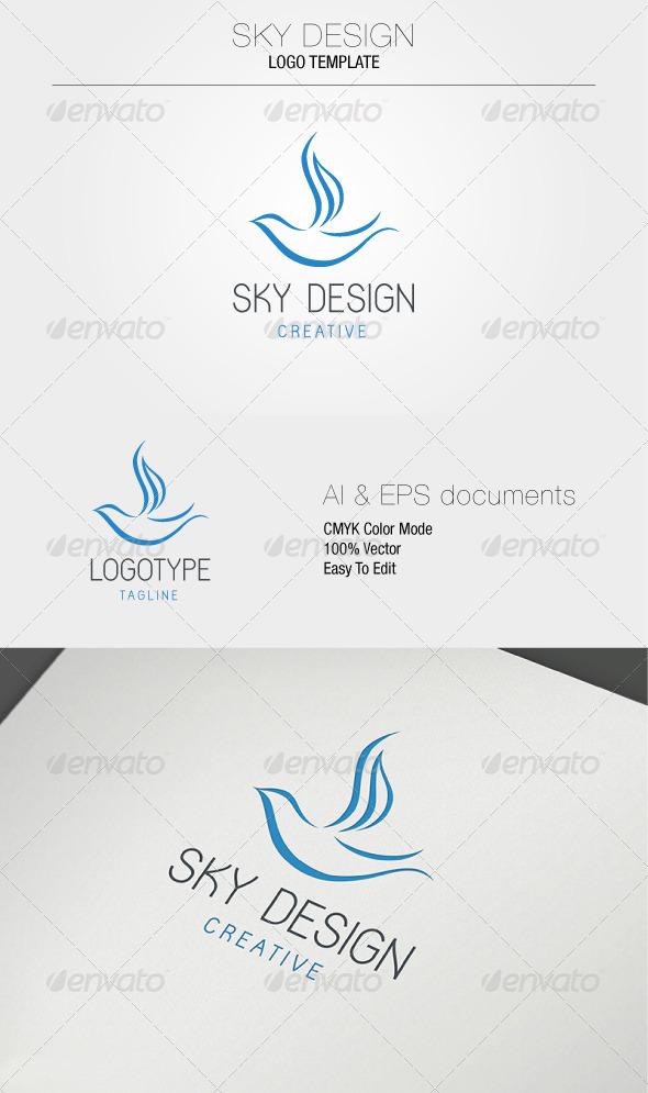 GraphicRiver Sky Design Logo Template 5324561