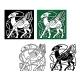 Celtic Deer - GraphicRiver Item for Sale