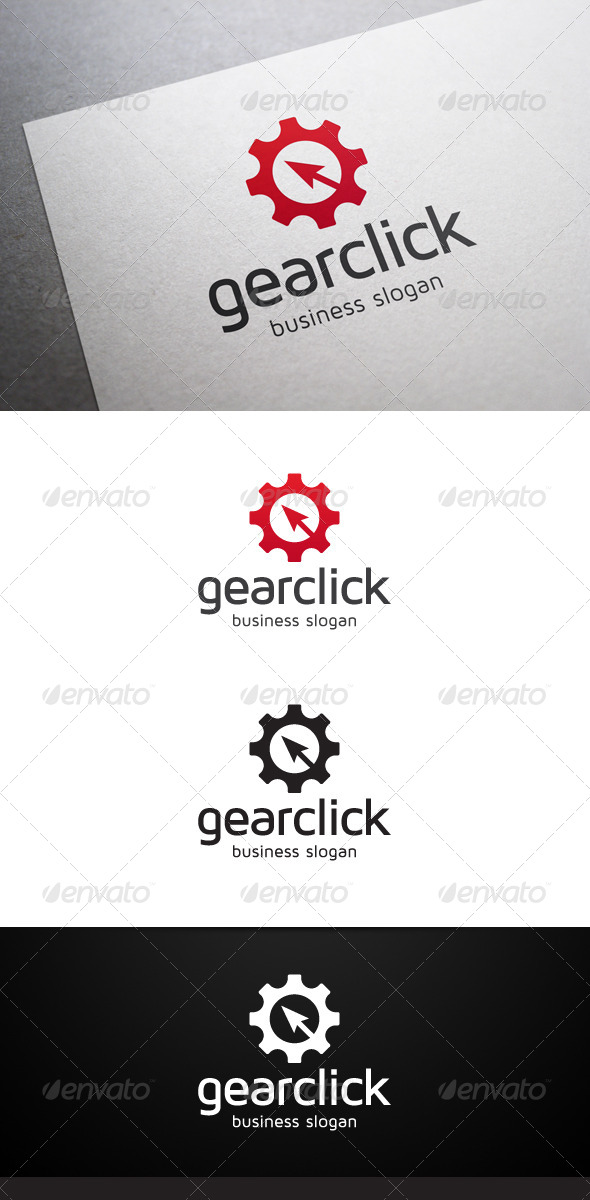 GraphicRiver Gear Click Logo 5324997