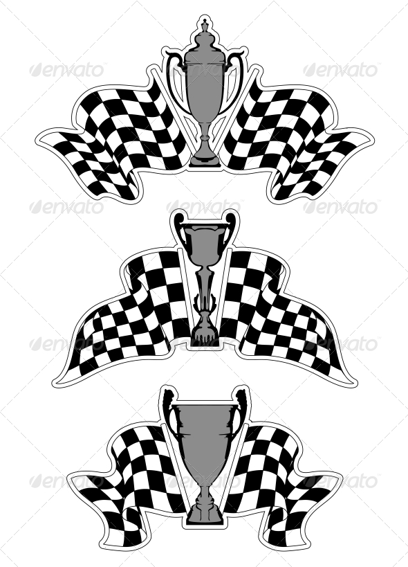 GraphicRiver Racing Sport Emblems 5325174