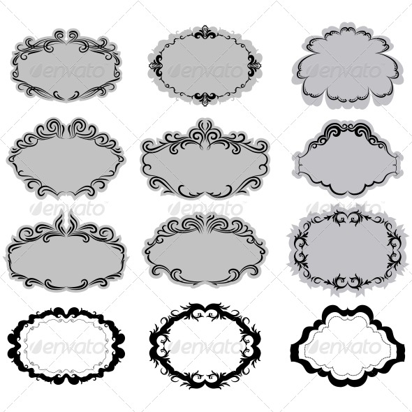 GraphicRiver Decorative Frame 5325344