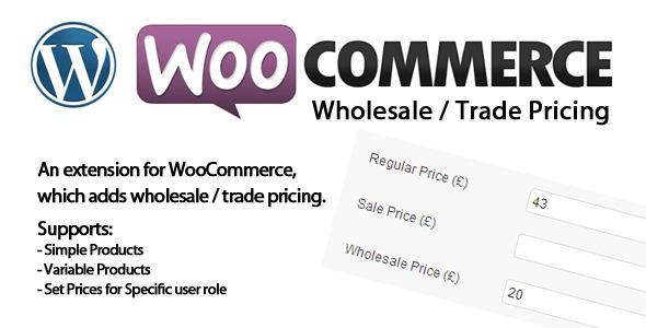 WooCommerce Wholesale Pricing (WooCommerce) images