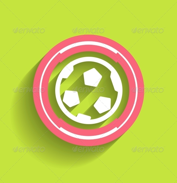GraphicRiver Modern Soccer Ball Icon 5325468