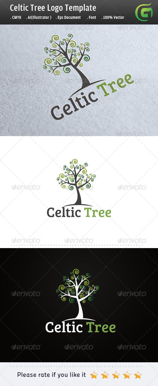 GraphicRiver Celtic Tree 5319228