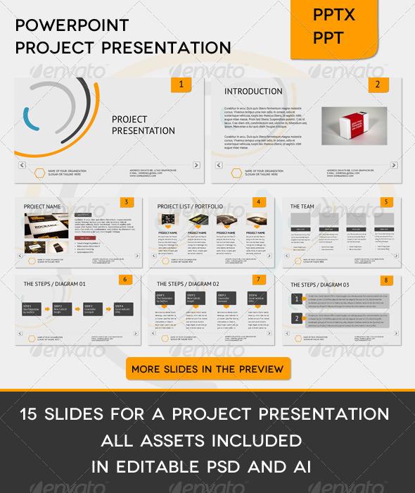 GraphicRiver Corporate Project Presentation 533486