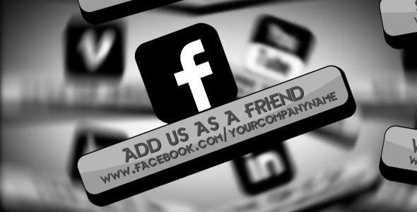 After Effects Project - VideoHive Social Network 542565