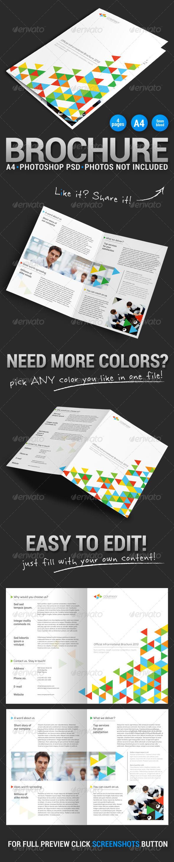 GraphicRiver Bi-fold Brochure 3 5326111