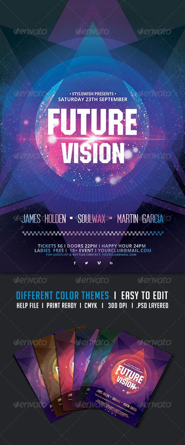 GraphicRiver Future Vision Flyer 5326861