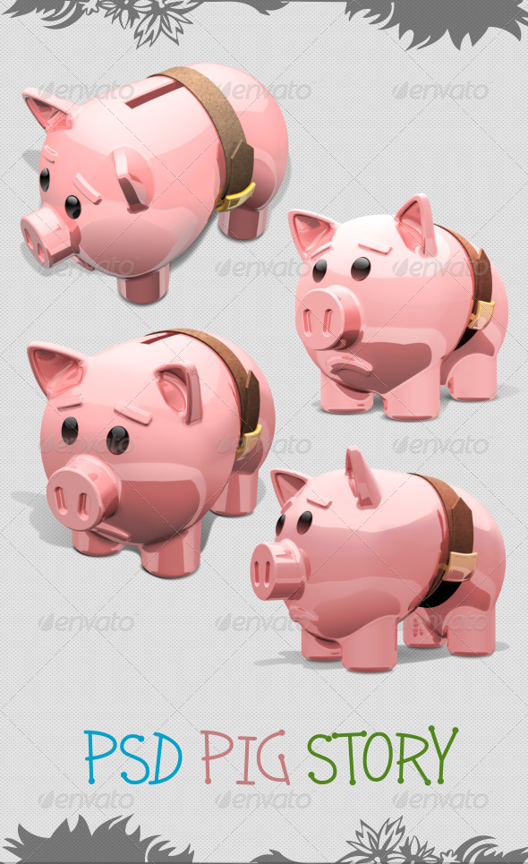 GraphicRiver Piggy Bank 5326944