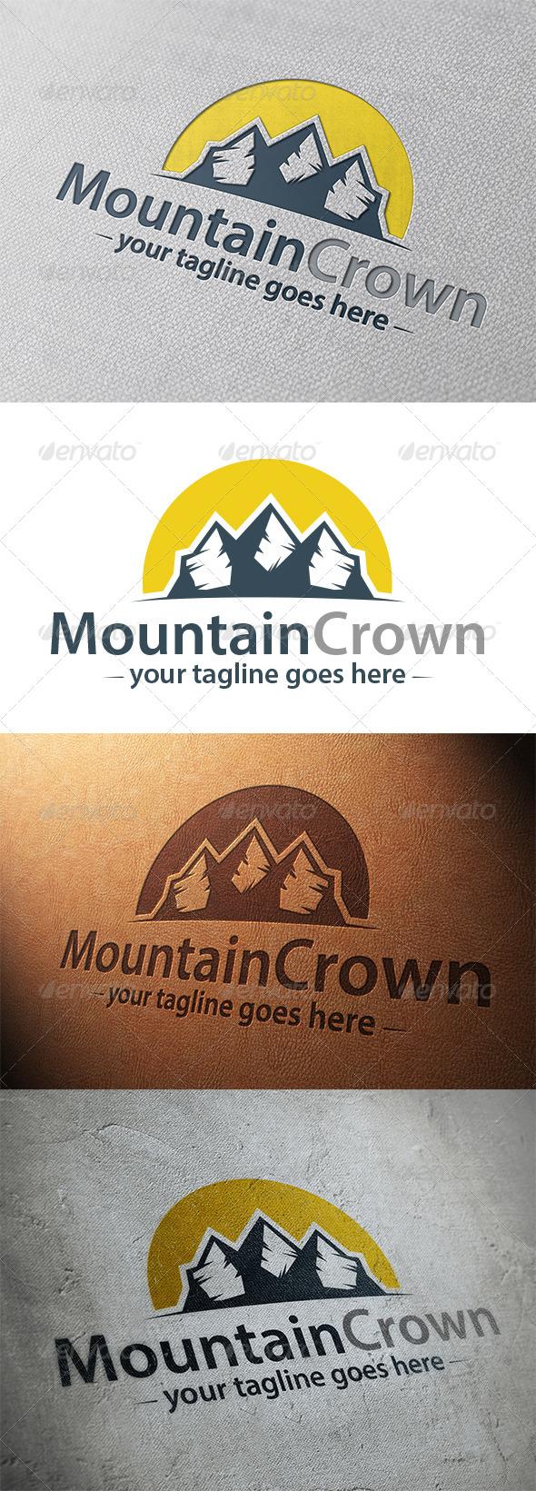 Mountain King Logo Template