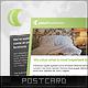 Luna Postcard - GraphicRiver Item for Sale