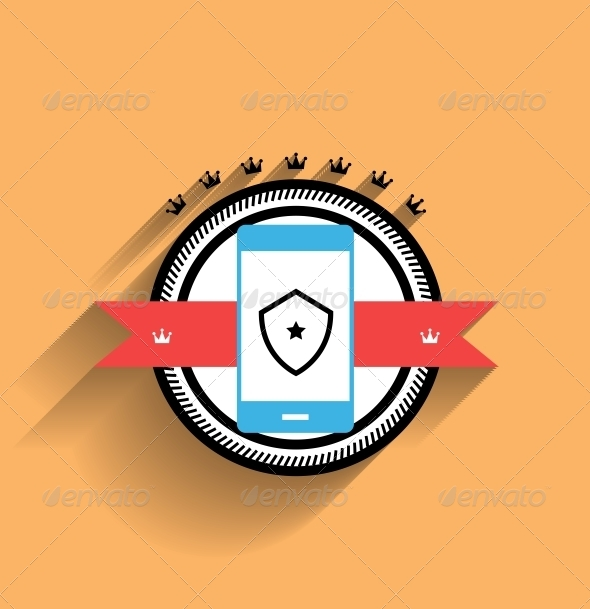 GraphicRiver Vector Smartphone Icon Flat Design 5327041