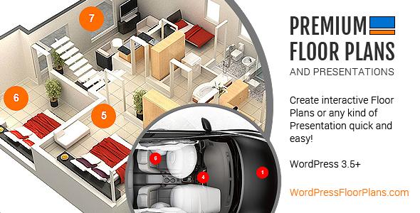 CodeCanyon Premium Floor Plans and Presentations 5268730