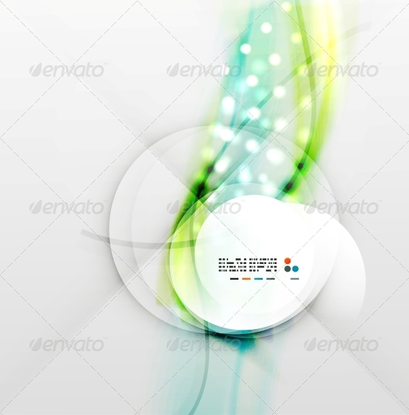 GraphicRiver Colorful Blurred Waves with Lights 5327566