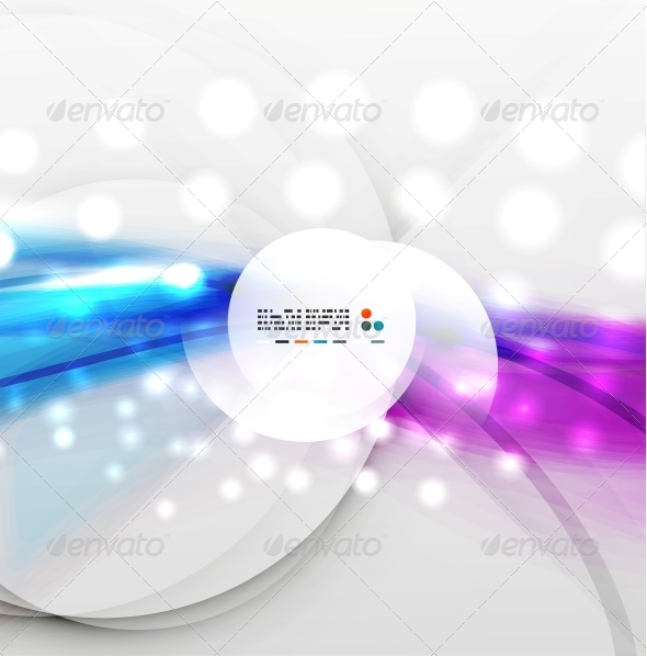 GraphicRiver Colorful Blurred Waves with Lights 5327569