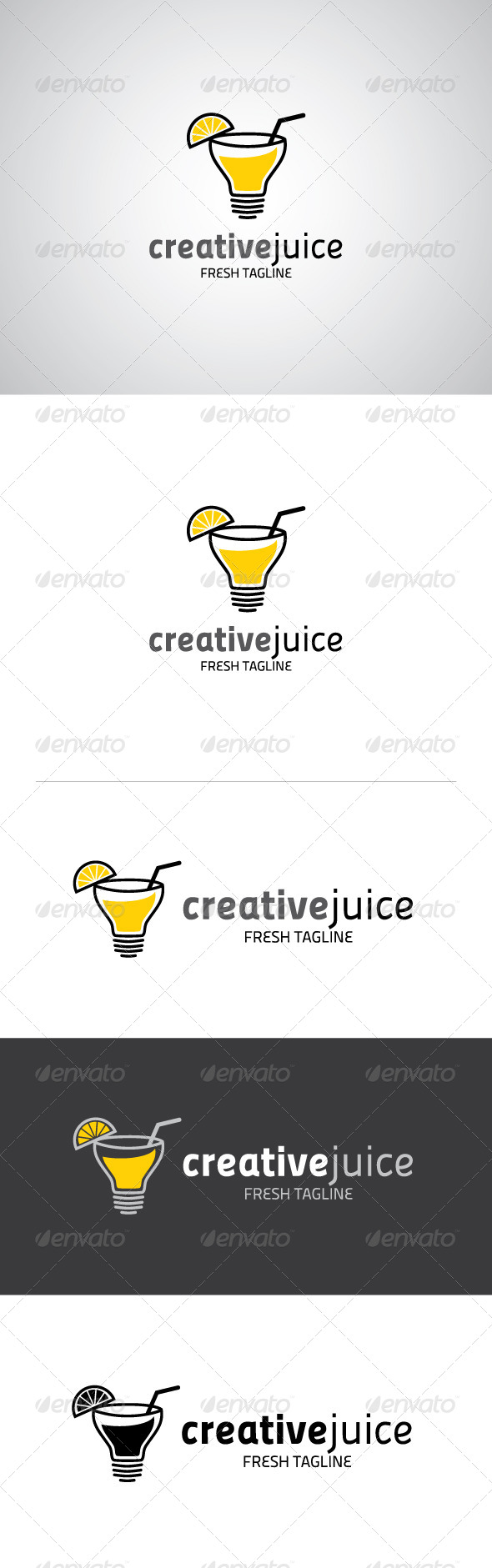 GraphicRiver Creative Juice Logo 5323225