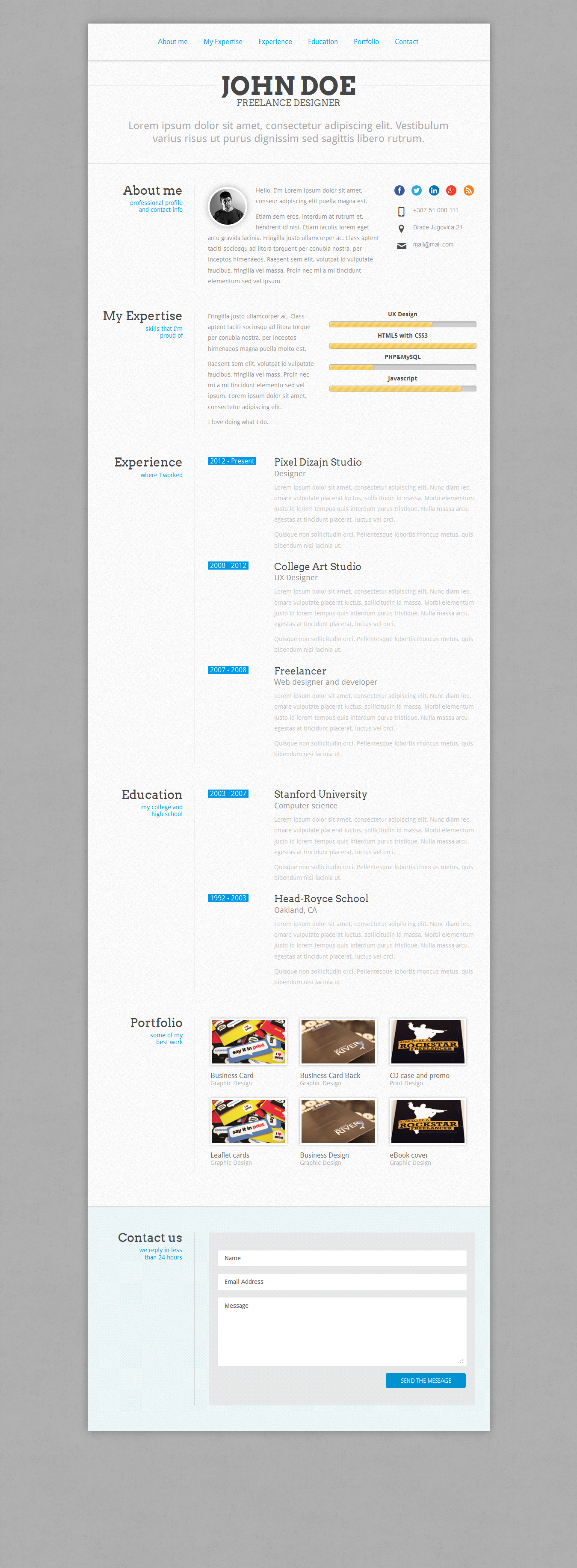 perfectcv   resume by