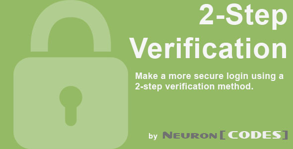 CodeCanyon 2-Step Verification by NeuronCodes 5314038