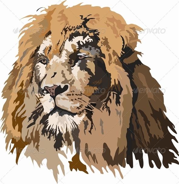 GraphicRiver Lion 5317236