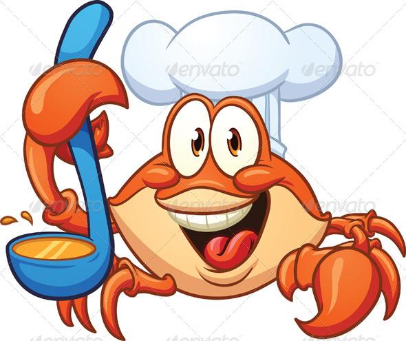 GraphicRiver Crab Chef 5328418