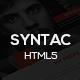 Link toSyntac - premium personal portfolio html5 template