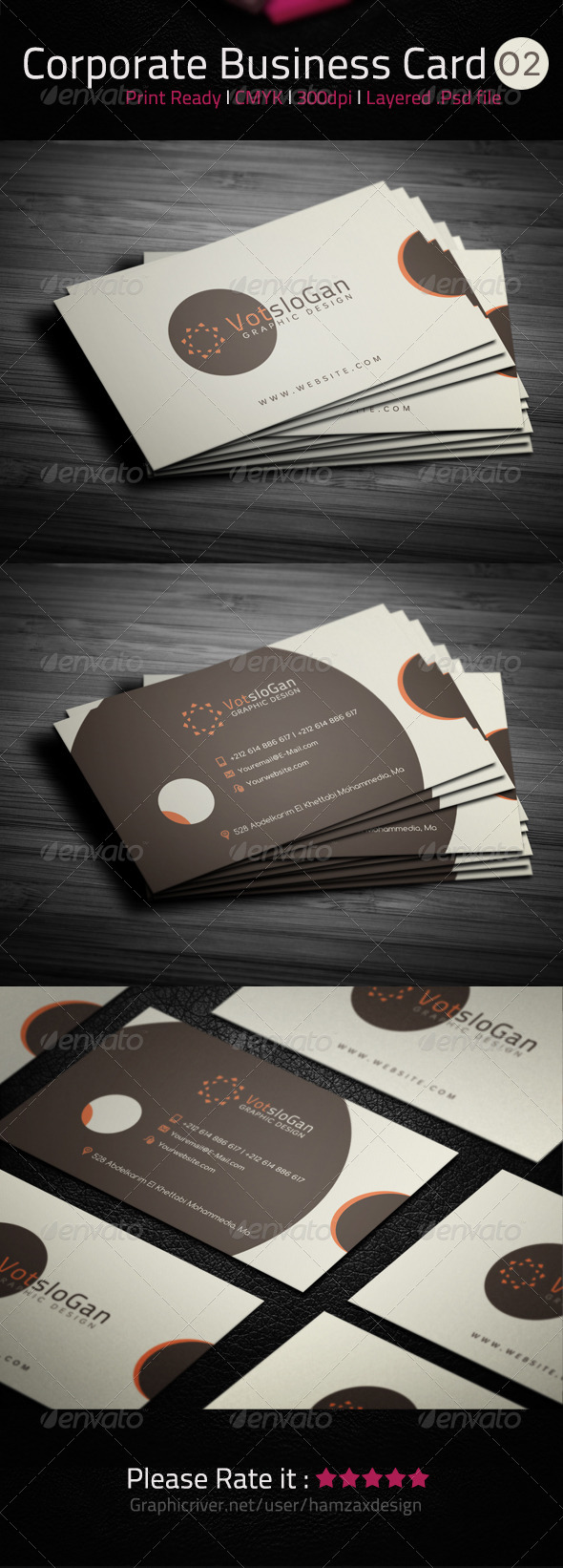GraphicRiver Corporate Business Card 02 5328713