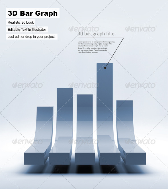 GraphicRiver 3D Bar Graph 5329254