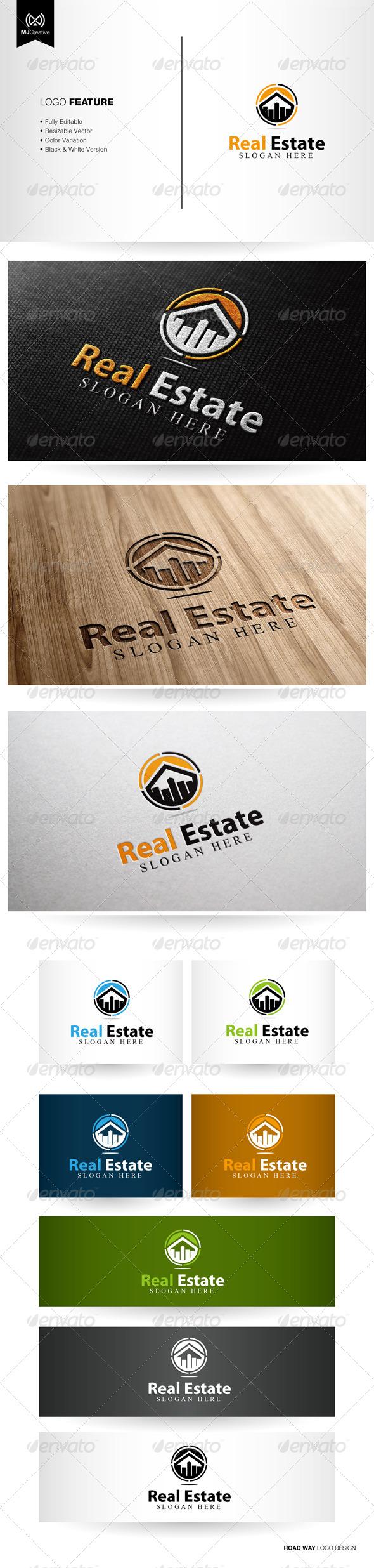 GraphicRiver Real Estate Logo 5329283