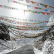 Buddhist prayer flags on mountain pass  - PhotoDune Item for Sale