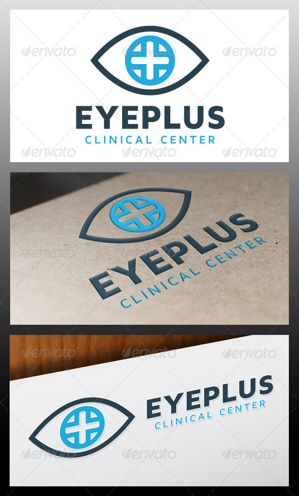 GraphicRiver Eye Plus Logo Template 5329927