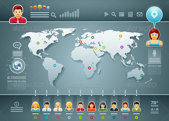 GraphicRiver World Infographics 5330007