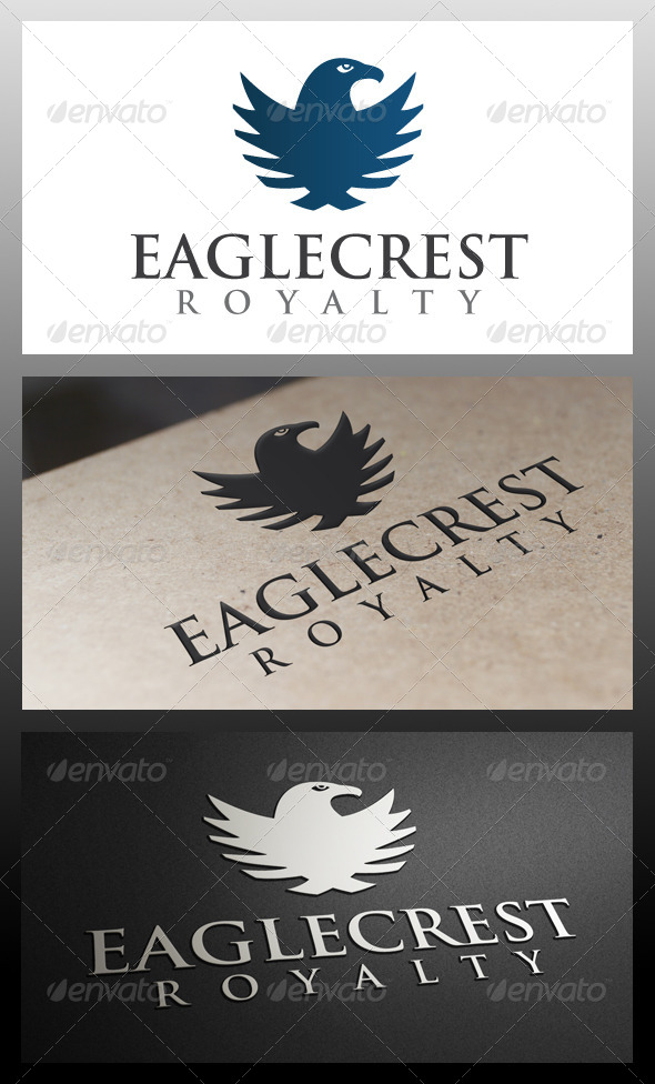GraphicRiver Eagle Crest Logo Template 5330028