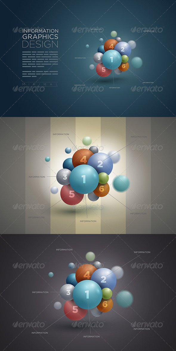 GraphicRiver Sphere Infographic Template 5330030