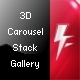 3D Carousel Stack Gallery - ActiveDen Item for Sale