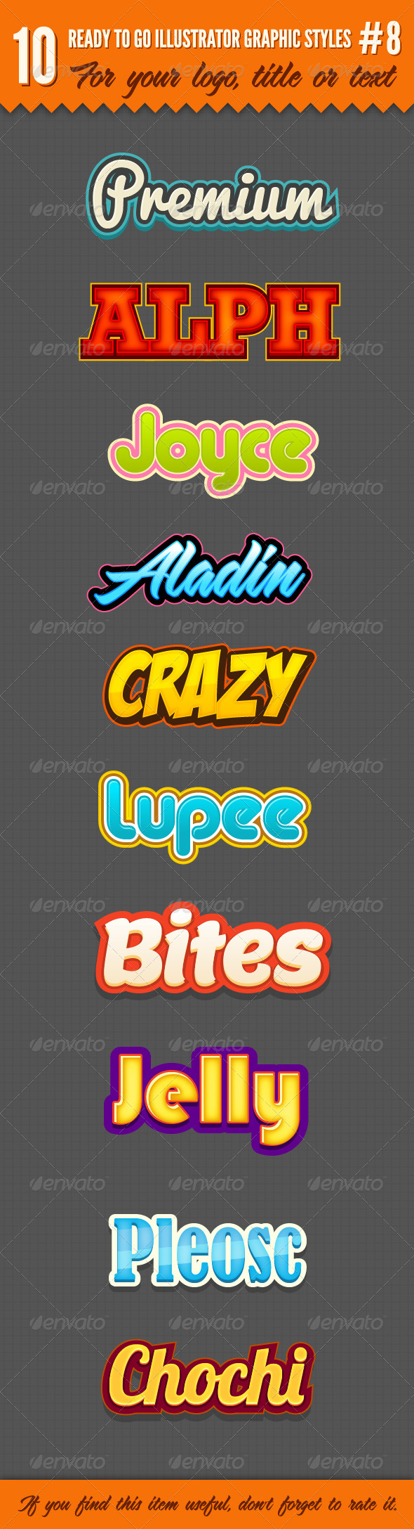 GraphicRiver 10 Logo Graphic Styles #8 5330851