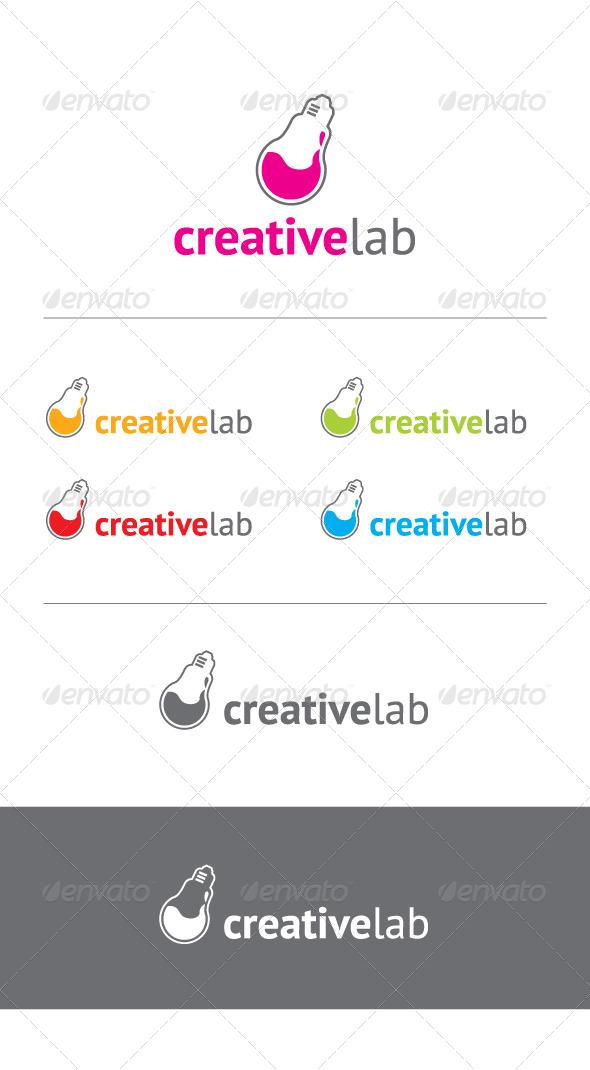GraphicRiver Creative Lab Logo 5332633