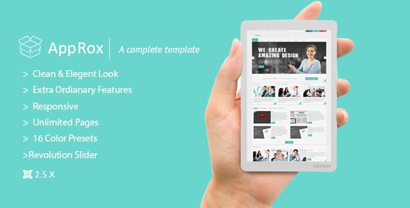 ThemeForest AppRox Multipurpose Mega Premium Joomla Template 5319655