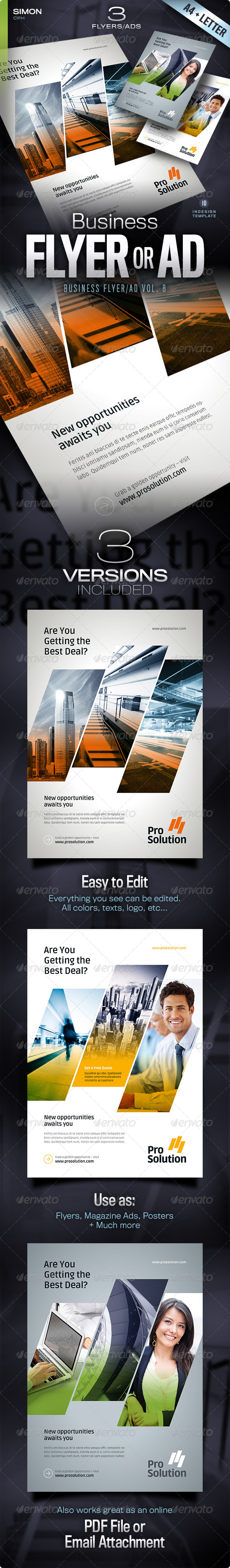 GraphicRiver Business Flyer Ad Vol 8 5333249