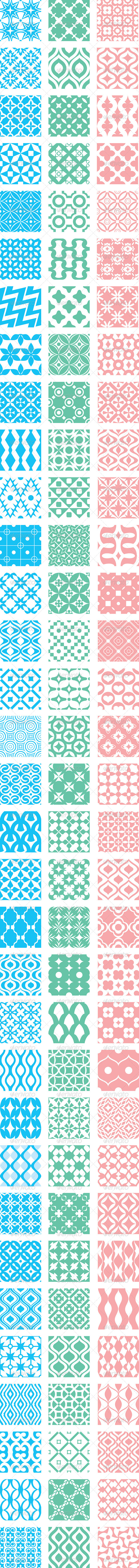 GraphicRiver Abstract Vector Patterns 5333270