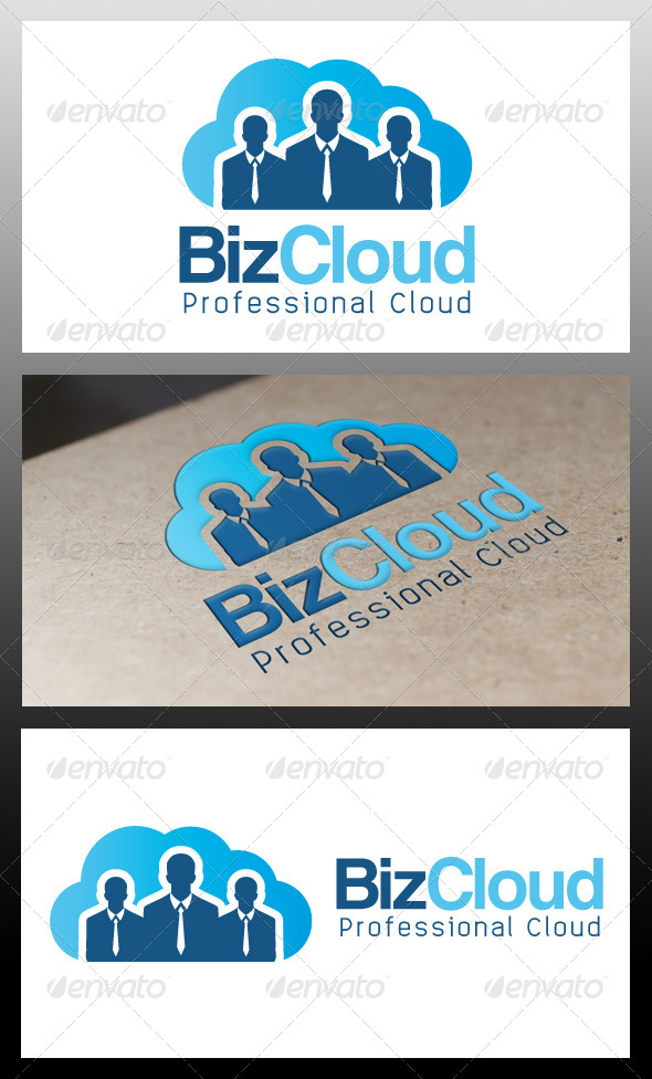 GraphicRiver Business Cloud Logo Template 5333506