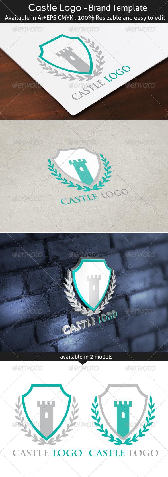 GraphicRiver Castle Logo 5333708