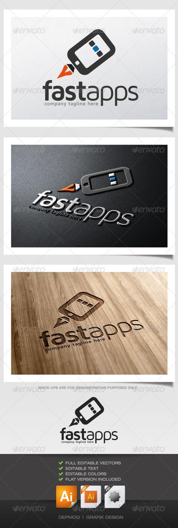 Fast Apps Logo - Symbols Logo Templates