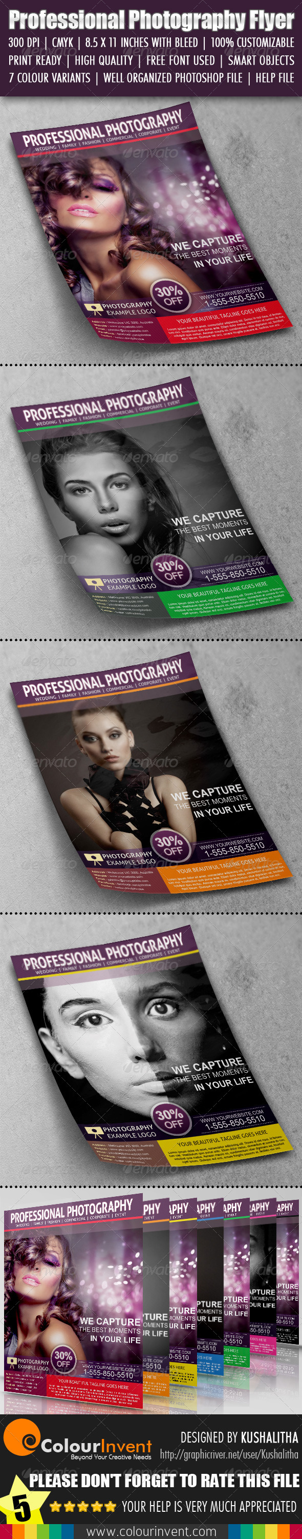 GraphicRiver Photography Flyer 4652646