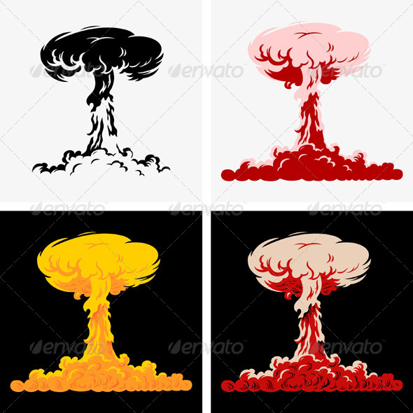 GraphicRiver Nuclear Explosion 5334805