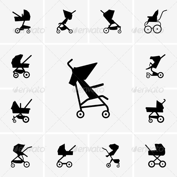 GraphicRiver Baby Carriages 5334809