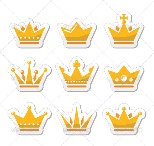 GraphicRiver Crown Set 5335513