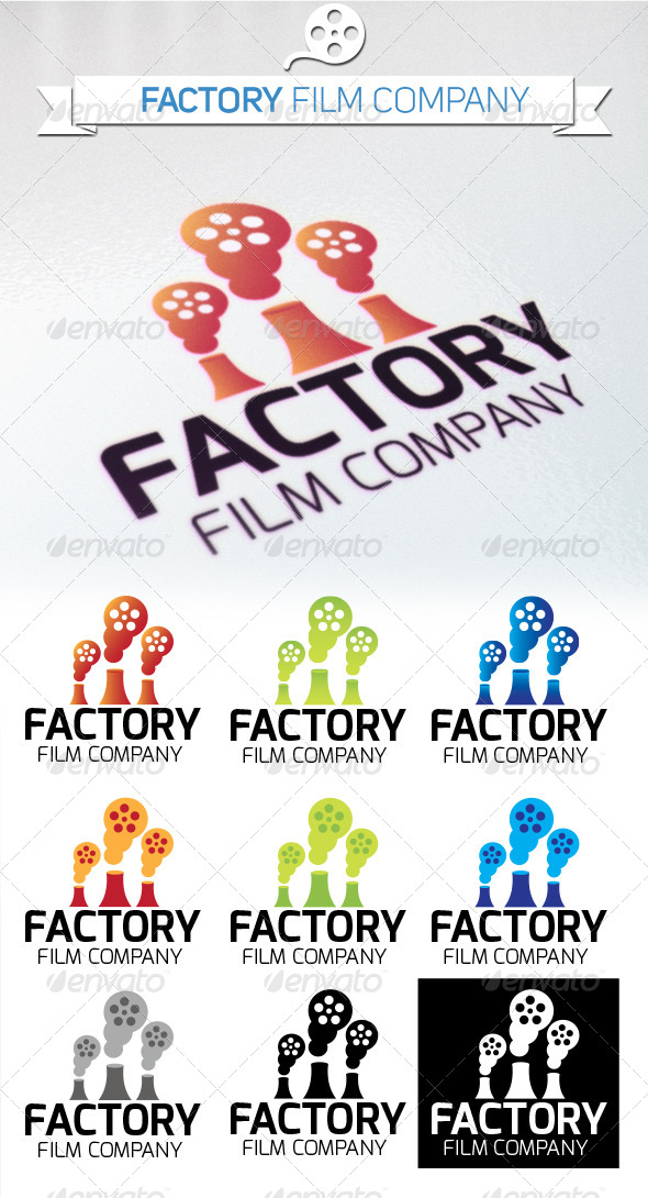 GraphicRiver Factory Film Company 5312843