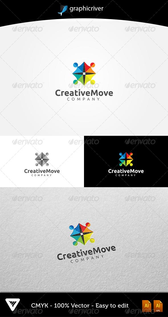 GraphicRiver CreativeMove Logo 5336957