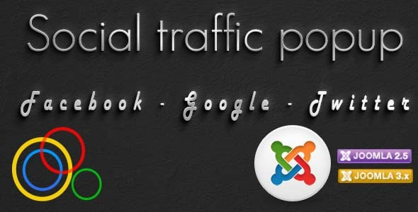 CodeCanyon Social Traffic Popup module for Joomla 5336978