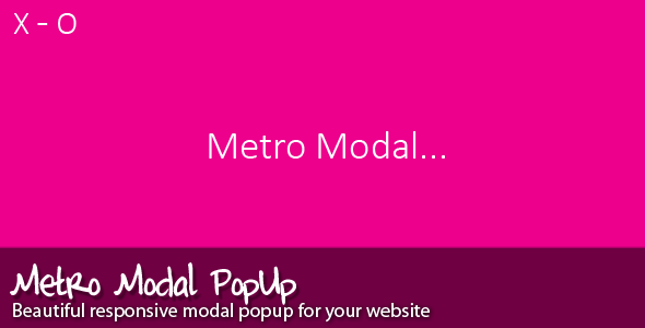 Metro Modal (Miscellaneous) images